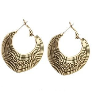 🌟 Antiqued Gold Boho Earrings 🌟